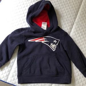 Patriots hooded sweatshirt